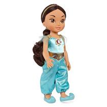 Muñeca Jasmine Pequeña De Colección De Disney - Azul
