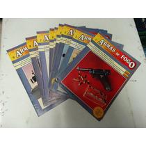 Fasciculos Armas De Fogo Nºs 1 A 9! Ed. Século Futuro 1985!