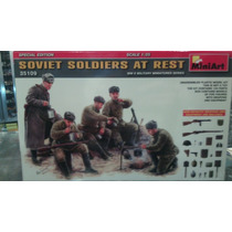 Miniart 35109 Soviet Soldiers At Rest 1:35 Milouhobbies