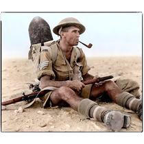 Camisa Tipo Britânica 8.o Exército Tommy Segunda Guerra