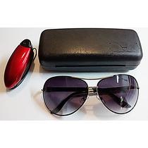 Lindo Oculos Sol Aviador Feminino Uv 400 Original + Brindes