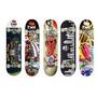 Skate Board Semi Profissional Rodas Gel Truck Em Alumínio