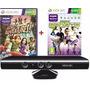 Kinect Sensor Original Xbox 360 + 2 Jogos Originais Lacrados