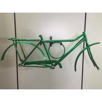 Kit De Quadro Barra Forte Circular Aro 26 Bicicleta Bike