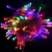Pisca De Natal 100 Led Colorido Enfeite Arvore E Externo