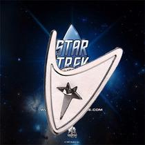 Star Trek (jornada Nas Estrelas) Broche Pin - Cor Prata Mod1