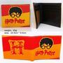 Billetera Harry Potter Exterior De Goma Int. De Cuero Eco