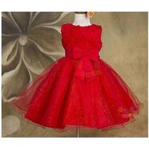 Vestido Infantil Casamento Aniversário Festa Pronta Entrega