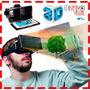 Visor De Realidad Virtual Google Cardboard Lentes En Su Caja