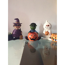 Decoración Halloween Candelabros Muñecos Fiestas Niños Infan