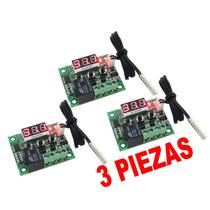 3 Termostatos Electrónicos Para Incubadora, Acuario Etc.