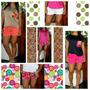 Blusas Y Shorts Para Damas (ojo El Precio Es Por Pieza)