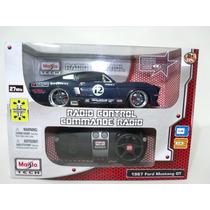 Miniatura Com Controle Remoto Ford Mustang Gt 1:24 Maisto