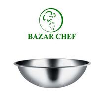 Bowl Profundo Acero Inoxidable 30 Cm - Bazar Chef