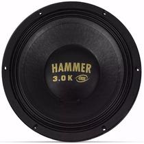 Auto Falante Woofer Eros Hammer 3.0 15pol 1500rms 4ohms