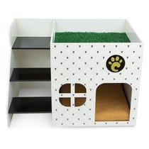 Casinha Para Cachorros Pequeno Porte Loft Branca 7008 Carlu