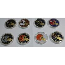 Super Ganga, Coleccion Completa De Monedas De La Nfl