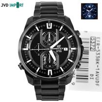 Reloj Casio Edifice Illuminator Efr-533bk-1av - 100% Nuevo