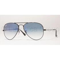 Gafas De Sol Ray-ban 3025 Aviator 002/3f-lente Azul Degrade