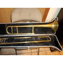 Trombon Marca Bundy Con Estuche Original Usado