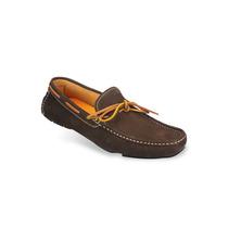 Zapato Mocasín Para Hombres Mega 1672 Marrón