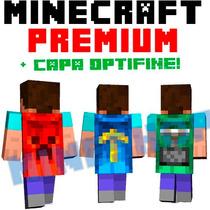Minecraft Premium Original + Capa Optifine 100% Modificable!
