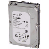 Hd 1tb Sata 3,5 Seagate Interno Pc E Dvr Desktop 7200rpm 64m