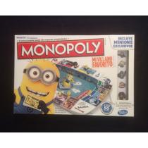 Monopoly Minions Mi Villano Favorito Nuevo Y Original