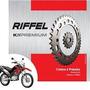Kit Transmissão Moto Nxr/bros 125cc 54/17/428 Riffel 03/05
