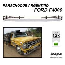 Parachoque Dianteiro Argentino Caminhão Ford F4000 Até 1992