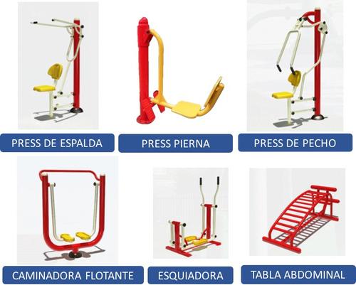 Paquete economico gimnasios al aire libre ejercitadores for Gimnasios baratos