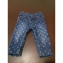 Pantalon De Jean Pañalero 9 Meses Falabella Nuevo