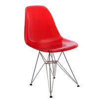 Cadeira Charles Eames Eiffel Em Policarbonato