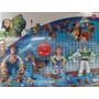 Kit Toy Store Buzz Woody Jessie Bala No Alvo Luz Led Disney