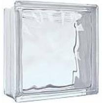 Bloco Tijolo Tijolinho De Vidro 19 X19 X8cm Para Casa Balcão