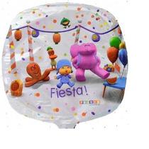 Globos Metalizados Pocoyo, Toy Story, Elmo, De 9 Pulg.