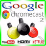 Novo Google Chromecast 2 Chrome Cast Hdmi - 1080p - Original