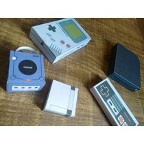 Game Boy Clássico + 3 Consoles Craft