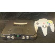 Nintendo 64 Paquete Basico Control, Cables Y 2 Juegos Gratis