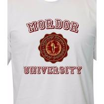 Camiseta Universidade Mordor - O Senhor Do Anéis - O Hobbit