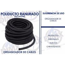 Poliducto Ranurado Negro De 1 Pulgada
