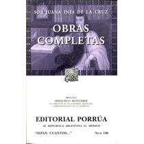 Obras Completas - Sor Juana Ines De La Cruz