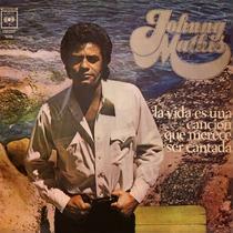 Johnny Mathis La Vida Es Una Cancion Vinilo Lp Pvl
