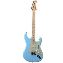 Guitarra Strato Tagima T635 Linha Brasil Pb Azul Pastel