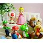 Bonecos Super Mario Bros Kit C/ 6 - Novos - Pronta Entrega