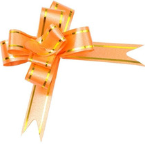 200 Laço Fácil Gravata- Embalagem Presente Fita 18mm X 390mm