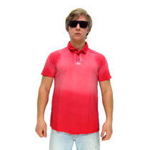 Camisa Polo Maresia Gradient Red
