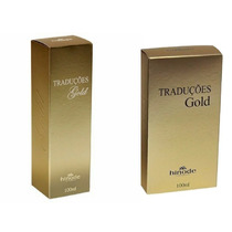 Kit 3 Perfumes Traduções Gold Hinode Fragrâncias Importadas