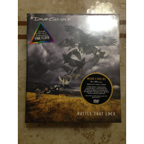 David Gilmour Box Rattle That Lock( Dvd + Cd + Book) Lacrado