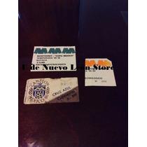 Boletos De Colección Del Monterrey 80s